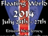 Floating World 2014, July 25-27, Edison, NJ; ;all-access pass, Floating World
