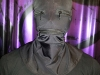 Spandex hood with zippered mouth and eyes,  MAsT-Metro NY