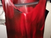 Northbound Leather  red latex tanktop, size M,  Joe Regan,
