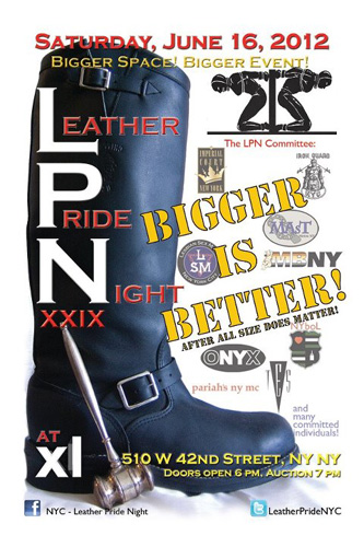 29th Annual Leather Pride Night Auction, NYC